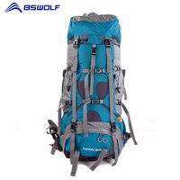 BSWolf 75L альпинизм мешок с дождевик путешествия рюкзак водостойкий восхождение пеший Туризм сумка рюкзак для походов на природу оборудования