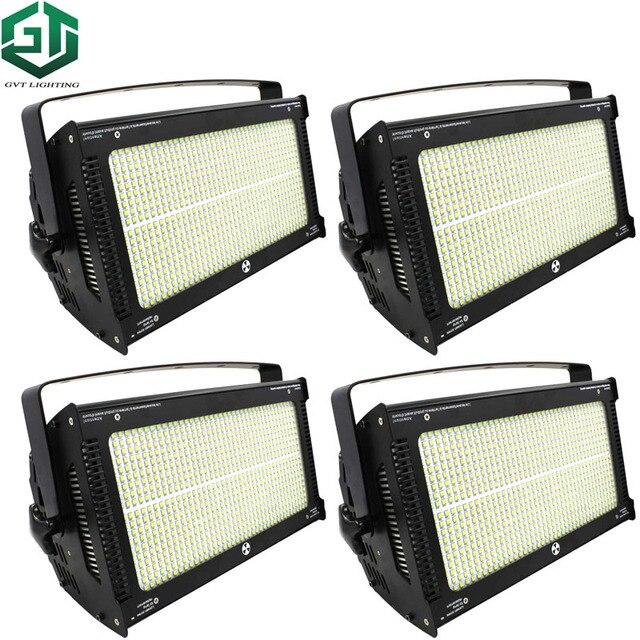 4pcs/lot LED High Power 1000W Dyeing Flash Strobe Light Stage White Color  Strobe Lights