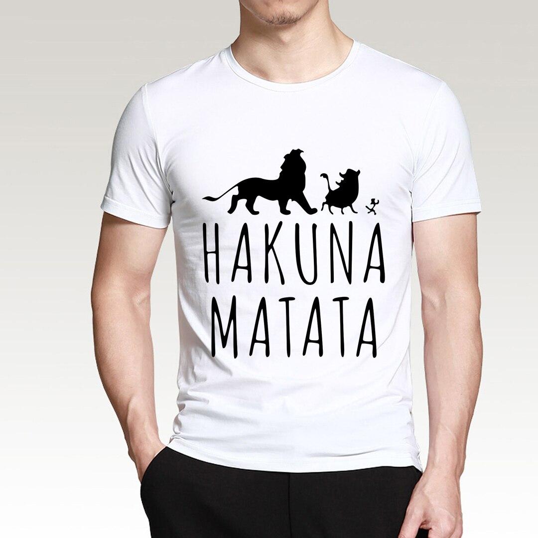 The Lion   Men T Shirt Hot Sale 2019 Summer 100% Cotton Anime Men T Shirt Short Sleeve O-Neck Tops For Fans