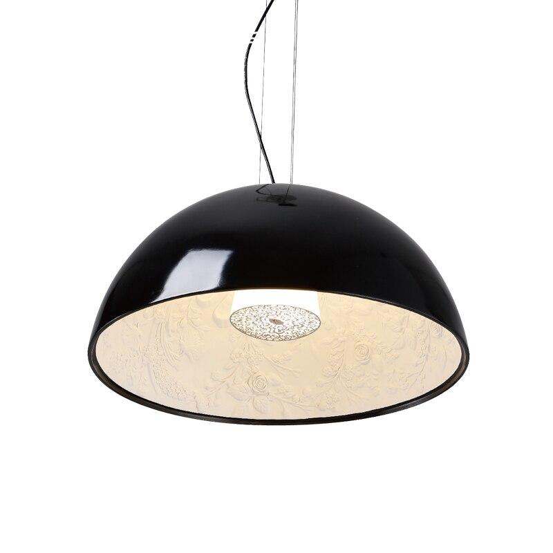 Image 2 - Modern Black White Gold Brown Resin Sky Garden Led Pendant Lights Dining Room Bedroom Pendant Lamp Hanging Light Fixtures-in Pendant Lights from Lights & Lighting