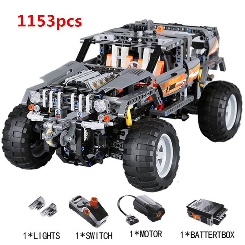 Lepin 20030 1132Pcs Technic Ultimate Series The Off-Roader Set Children Educational Building Blocks Bricks Toys Model Gifts 8297 lepin 20030 technic ultimate series the off roader set children educational building blocks bricks toys model gifts legoing 8297