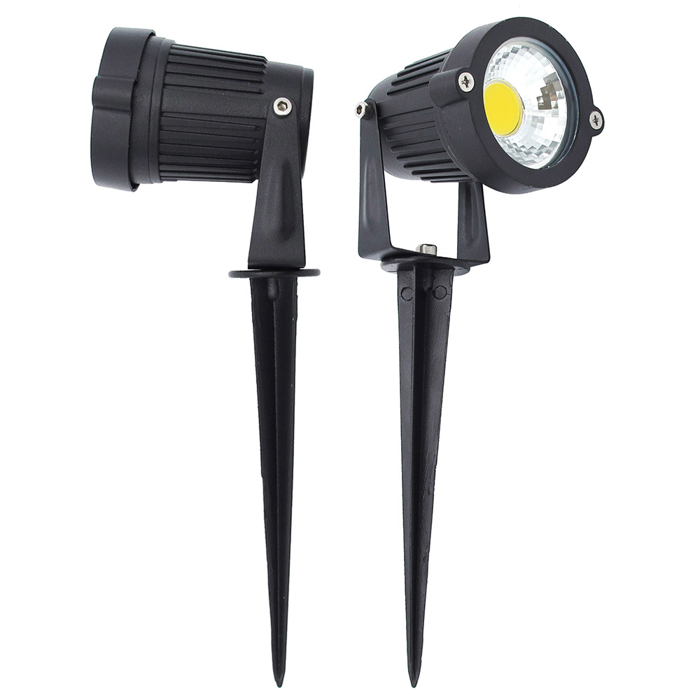 Outdoor Garden Spike Lights Outdoor garden ip65 aluminum waterproof 15w led cob lawn light spike outdoor garden ip65 aluminum waterproof 15w led cob lawn light spike type dc 12v lamp christmas street bulb ac 85 265v lighting in led lawn lamps from workwithnaturefo