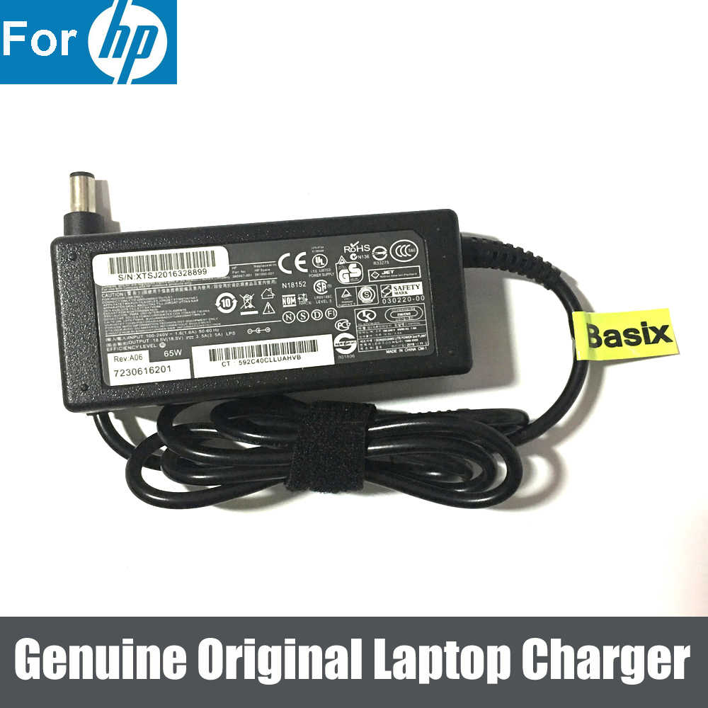Genuine Original 65w New Ac Adapter Charger Power Supply For Hp Elitebook 2170p 2570p Folio 9470m Ac Adapter Charger Ac Adapterfor Hp Aliexpress