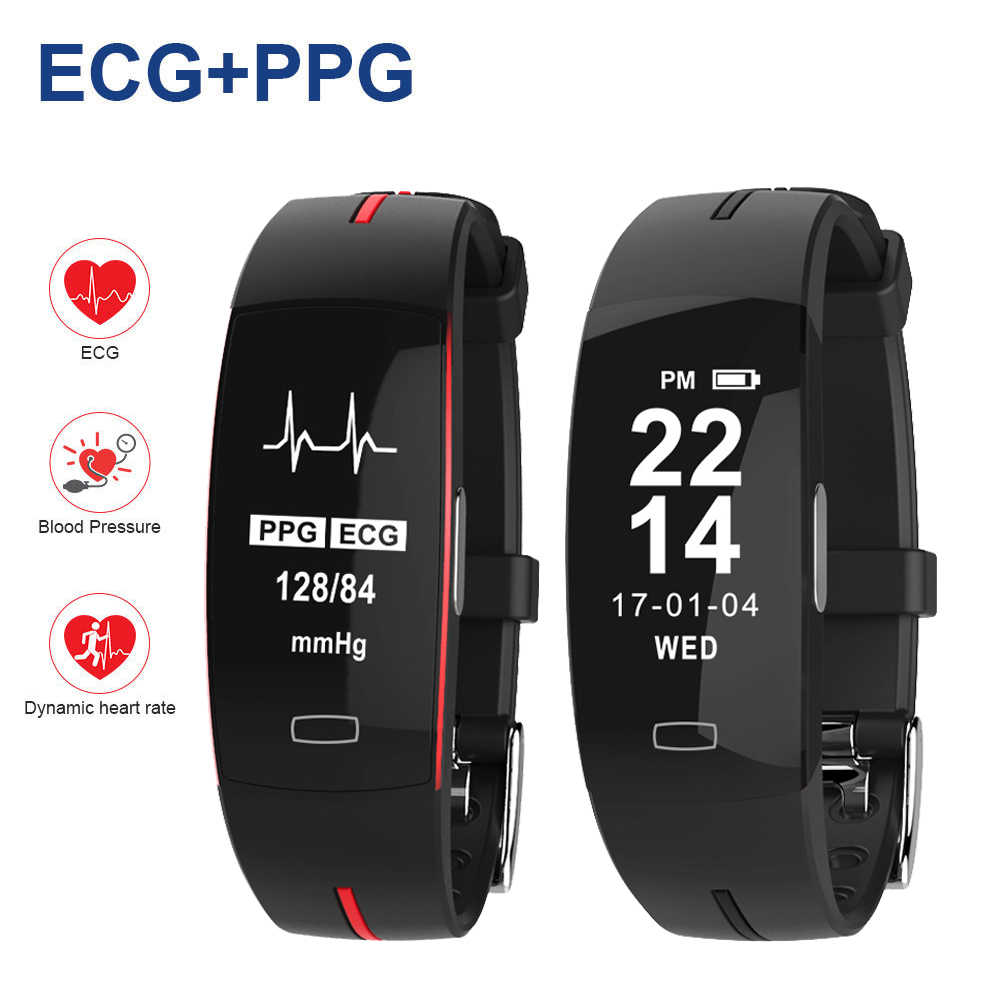 Two-Tone Sport Watch Blood Pressure Detection and Heart Rate Sports Health Watch Men Digital Watch Sport Watch Men Waterproof