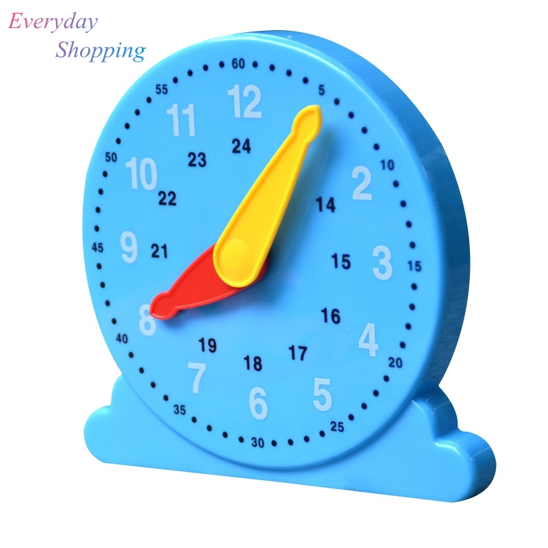US $4.29 23% OFF Learn Time Clock Early Education Toys For Children Plastic  Baby Model Teaching Baby Born Intelligence Toys High Quality Gifts-in ...