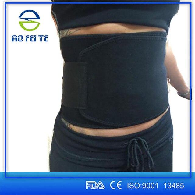 Women Men Abdominal Slimming Belt Back Braces Supports Sports Belts Waist Slimmer Tummy Trimmer Breathable Belt 100cm Y079