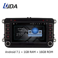 Wholesale 2din 7inch Touch Screen Wince 6 0 System Car DVD Player GPS Navigation For VW
