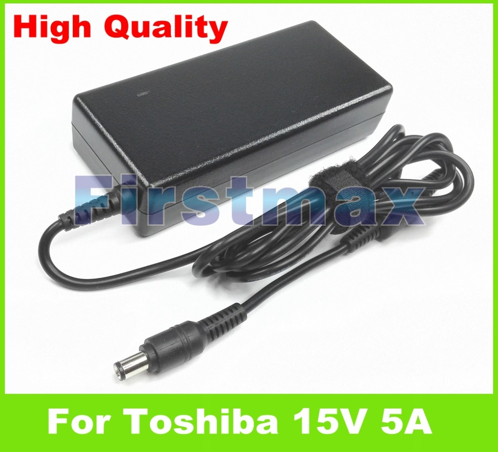 15V 5A 75W Laptop AC Adapter Charger For Toshiba Satellite Pro 4380 485 495 6050 6100 6300 A10 C A120 M15 S300 S300M