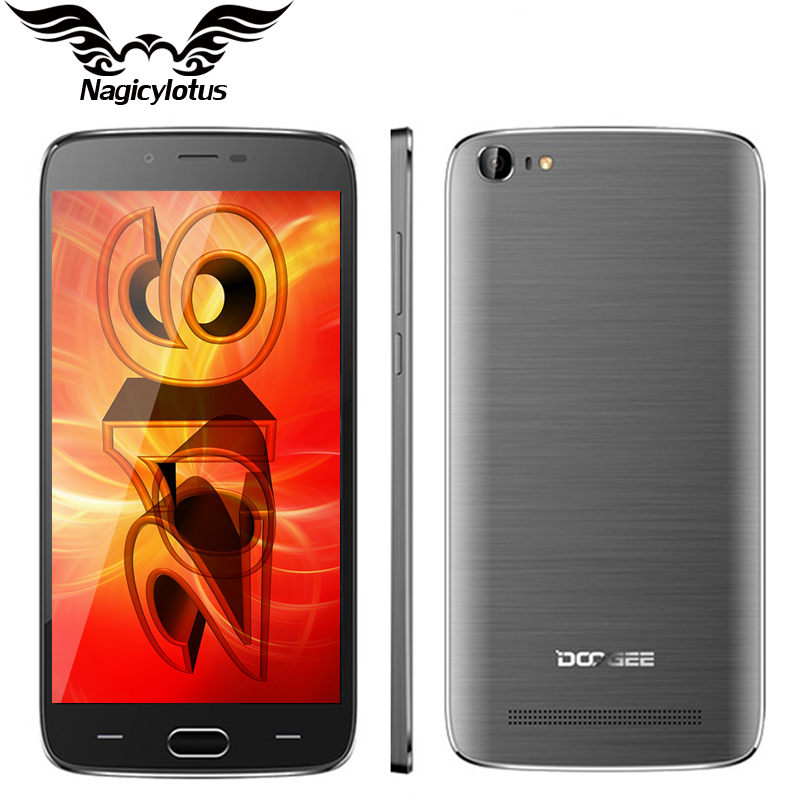 Original DOOGEE Y200 5.5 inch 2GB RAM 32G ROM Mobile Phone Android 5.1 MTK6735M Quad Core 3000mAh Camera 8.0MP 4G LTE CellPhone