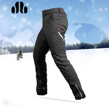 SOBIKE Winter Riding Bike Pants- Ling Feng Fleece Thermal Pants Cycling Trousers Leisure Style Windproof Keep Warm Black