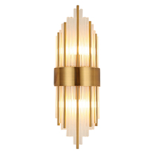 2018 New design luxury crystal wall light lamp luster gold applique wall fixture modern art home wall lamp E14 led lamp 220V