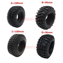 4PCS 1.9 inch 96MM 100MM Rock Crawler Car Tires Tyre For 1/1