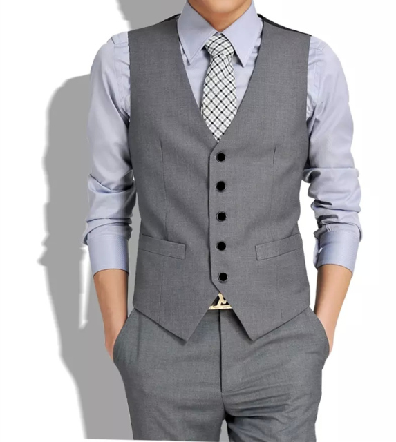 New arrived Businesswears gilets hot suit vest men 2015 fashion slim fitness men's waistcoat blazer vests tops clothing HY822