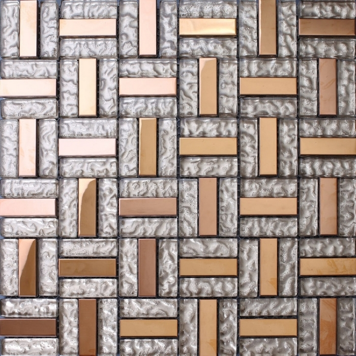 Glass mosaic bathroom wall mosaic wall tiles kitchen for Dining room tile designs