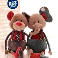 لطيف الإبداعية ماوس الدب أفخم لعبة الفيل أرنب دمية الملكة عيد factroy بالجملة