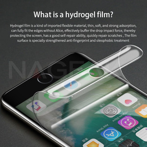 Image 3 - NAGFAK 0.15 มิลลิเมตร Hydrogel เมมเบรนฟิล์มสำหรับ iPhone 8 7 Plus 6 6 วินาที Plus X เครื่องมือป้องกันหน้าจอสำหรับ iPhoneX (แก้ว)