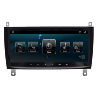 8 8 Quad Core Android 4 4 Car Radio DVD GPS Navigation Central Multimedia For Mercedes