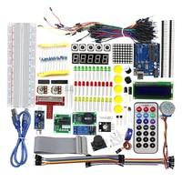 High Quality Best Price Ultimate Starter Kit For Arduino 1602 LCD Servo Motor LED Relay RTC