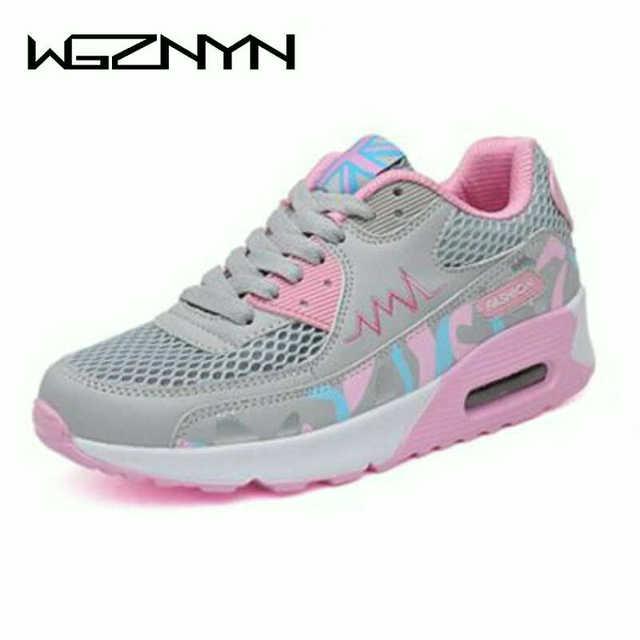 WGZNYN جديد أحذية امرأة أسافين منصة تشكيل الجسم أحذية شكل Ups أحذية اللياقة البدنية التخسيس سوينغ أجهزة لياقة خارجية أحذية رياضية W408
