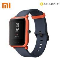 Original XIAOMI Huami Amazfit Bip Men Bluetooth 4.0 WiFi Smart Watch GPS Gloness Smartwatch IP68 Heart Rate Monitor Smart Watchs