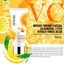 DR.RASHEL Vitamin C Facial Cleanser Hyaluroni Acid Face Wash Brightening Anti Aging Deep Cleansing 80ml