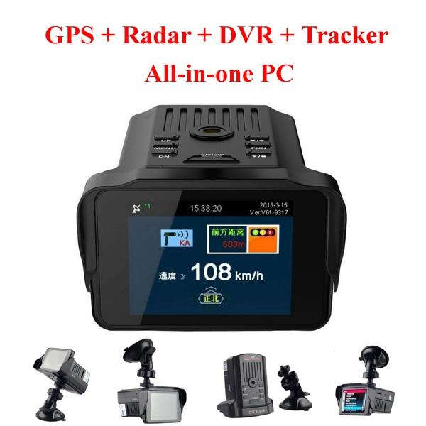 Mini Car Dvr Auto Camera Radar Detector Dash Cam Parking Recorder Video Registrator