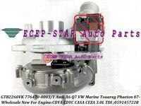GTB2260VK 776470 776470-5003 S 776470-5001 S Turbo Voor Audi A6 Q7 VW Marine Touareg Phaeton 07-SASB CDYA CDYC CASA CEZA 3.0L TDI