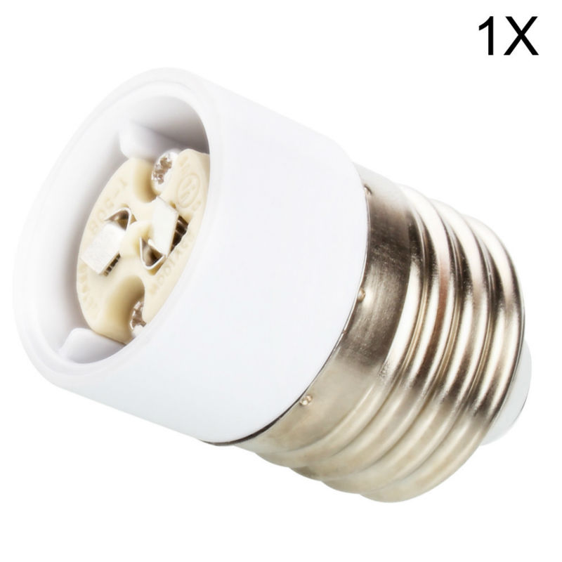 1x E27 Male to MR16 G4 Female LED Halogen CFL Light Bulb Base Lamp Socket Adapter Holder Converter
