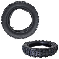 TDPRO 3.00 10 inch Motobike Rear Tire Tyre + Motorcycle Tube For XR50 XR70 CRF70 Dirt Pit Bike Tyres Supermoto Wheel Taotao XQ