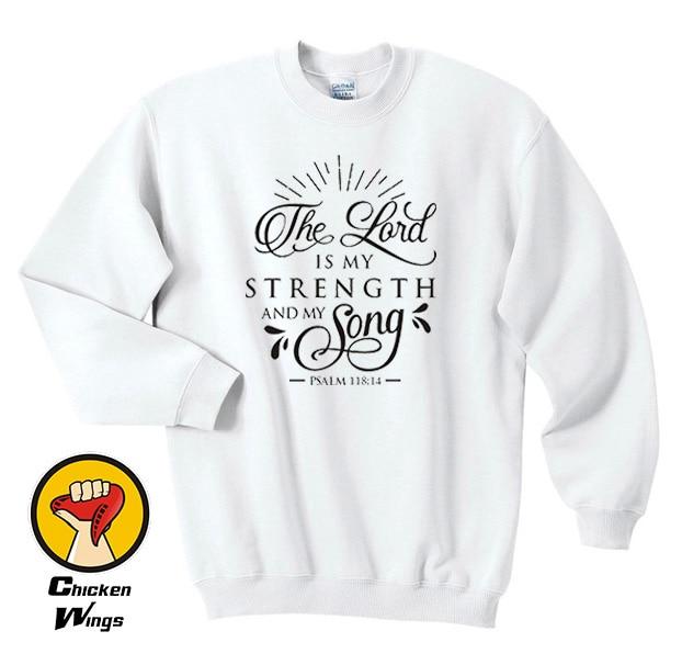 Faith Sweatshirt Christian Sweatshirt, Inspirational gift, Womens clothing-D424