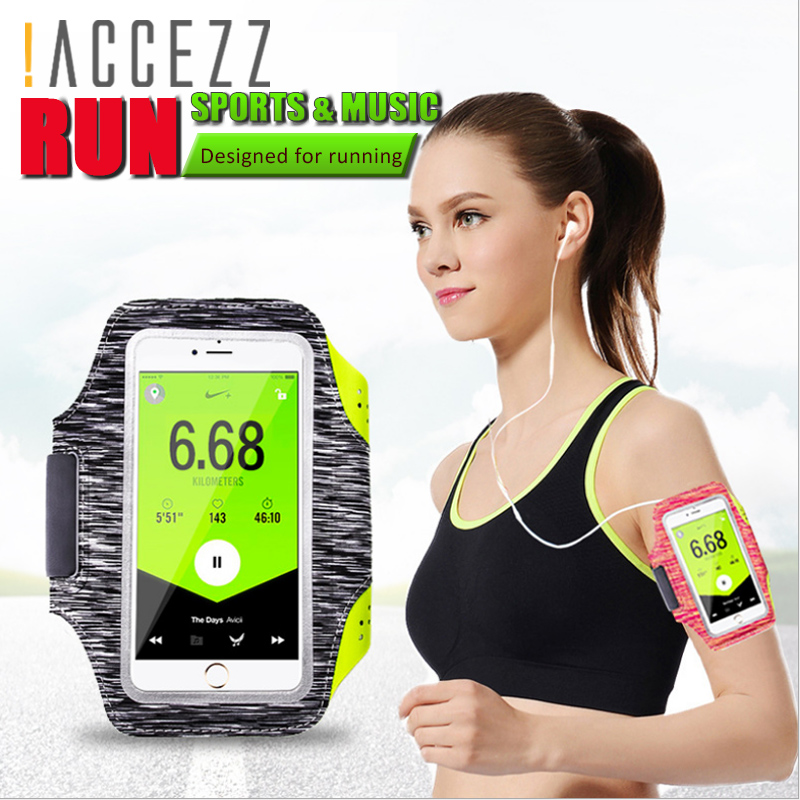 Mobile Phone Accessories !accezz Sport Running Armbands Holder 4.7 5.8 Inch For Oneplus 5 Iphone 7 6 8 Plus Xiaomi 6 Phone Pouch Gym Cover Arm Band Cases Easy To Use