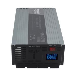 Image 1 - Sustain 1500W peak 3000W pure sine wave power inverter 12v 220v 230V Vehicle inverter for 1P air conditioner /electric kettle
