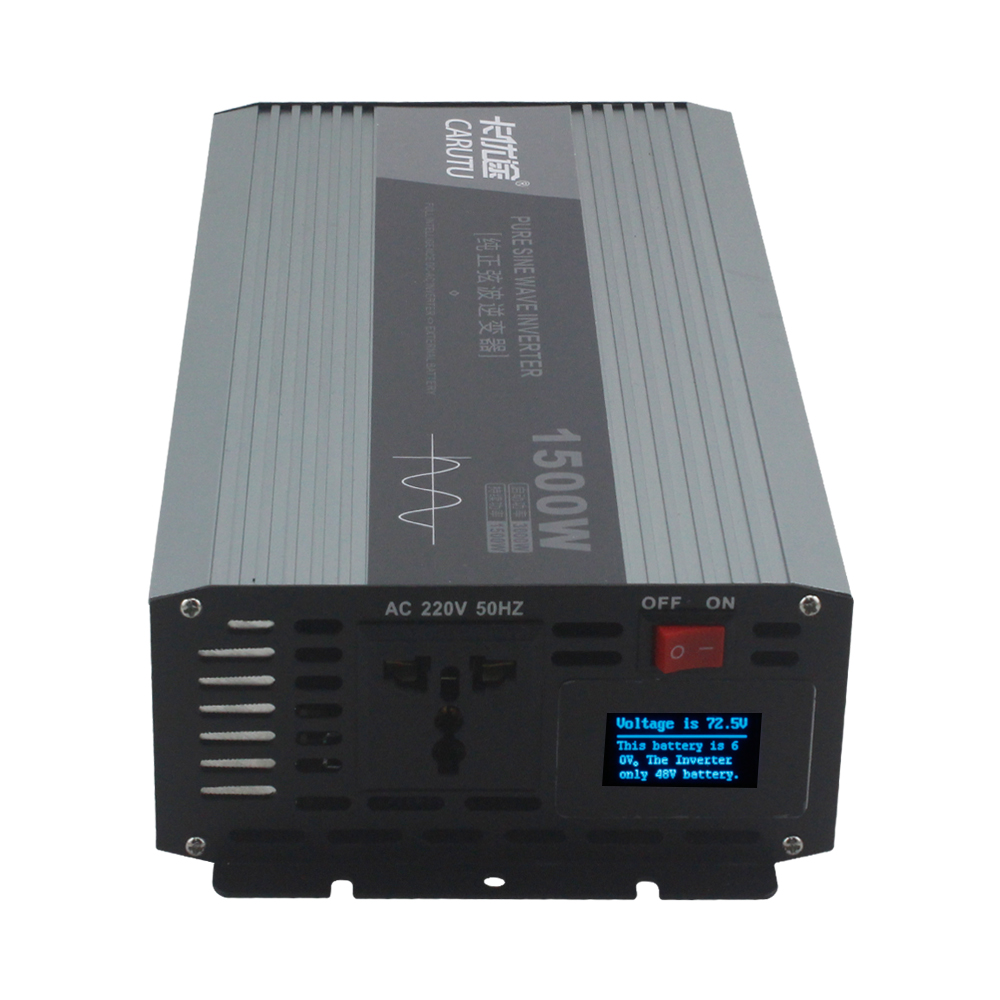 Sustain <font><b>1500W</b></font> peak 3000W pure sine wave power <font><b>inverter</b></font> 12v 220v 230V Vehicle <font><b>inverter</b></font> for 1P air conditioner /electric kettle image
