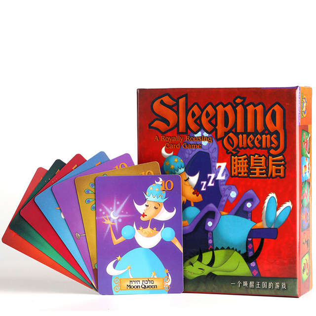 sleeping queens queen children s educational toy card game board