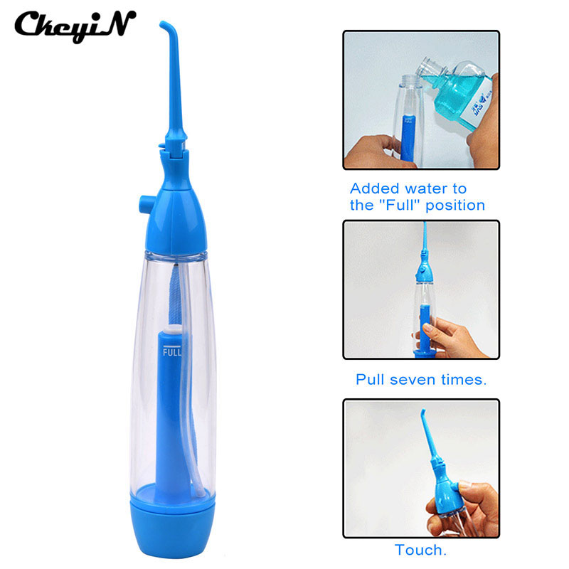 Portable Oral Irrigator Dental Flosser for Floss Care Implement Pressure Water Flosser Teeth Cleaning Tool Oral Care DCU23-S4848 oral irrigator dental flosser hygiene pressure water flosser teeth cleaning whitening tools water pick cleanser oral gum care