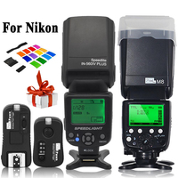 INSEESI IN 560IV IN560IV PLUS & PIXEL M8 LCD FlashLight Wireless Flash Speedlite &TF 362 Wireless Flash Trigger for Nikon Camera
