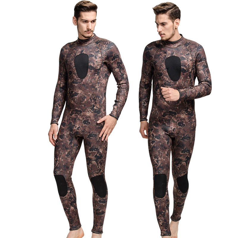 SBART 3MM Rubber Neoprene Wetsuit Men Diving Suit One Piece Swimming Scuba Freediving Swimsuits 2018 CO sbart 3mm scuba diving wetsuit for men s neoprene one piece full body blue dive surf snokeling swimming keep warm diving suit
