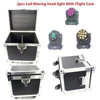 2 teile/los FÜHRTE Strahl Moving Head Licht Mit Flug Fall 150 W dj ausrüstung RGBW (CMY) quad led waschen 12x12 w 7x20 W-in Bühnen-Lichteffekt aus Licht & Beleuchtung bei