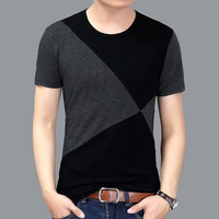 Hot Men Short Sleeve Plus Size 5XL Tee Shirt Black Casual T Shirt Summer Tops For