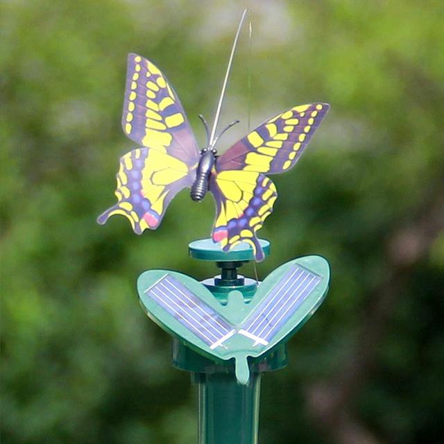 Solar Powered Flying Butterfly Garden Decoration
