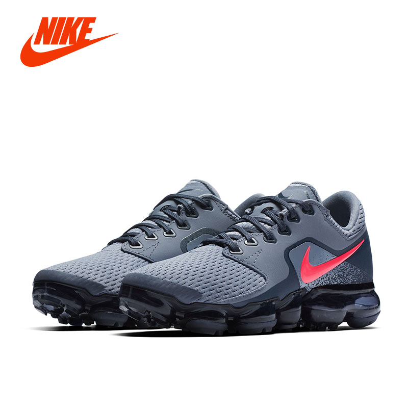 NIKE Air VaporMax Flyknit Original Boys Running Shoes Stability Height Increasing Breathable Lightweight Kids Children Sneakers