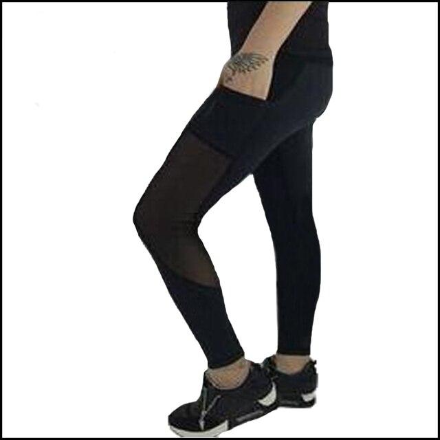 d80c549092a070 Women's Lulu leggings Skinny pants Ladies Pant top quality stitching net  yarn lace capris Sweatpants Trousers
