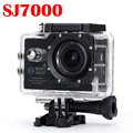 2016 New Model Action Camera Sj7000 Wifi 2.0 LCD Car-Styling Action Sports Cam 1080p Go Diving 30M Waterproof Pro Camera Golden