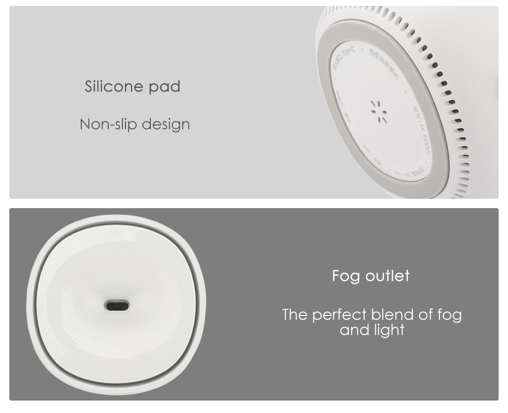 Xiaomi Viomi Portable USB Rechargable Mini Aroma Humidifier Ultrasonic Air Humidifier Mist Maker Happy Life from Xiaomi Youpin