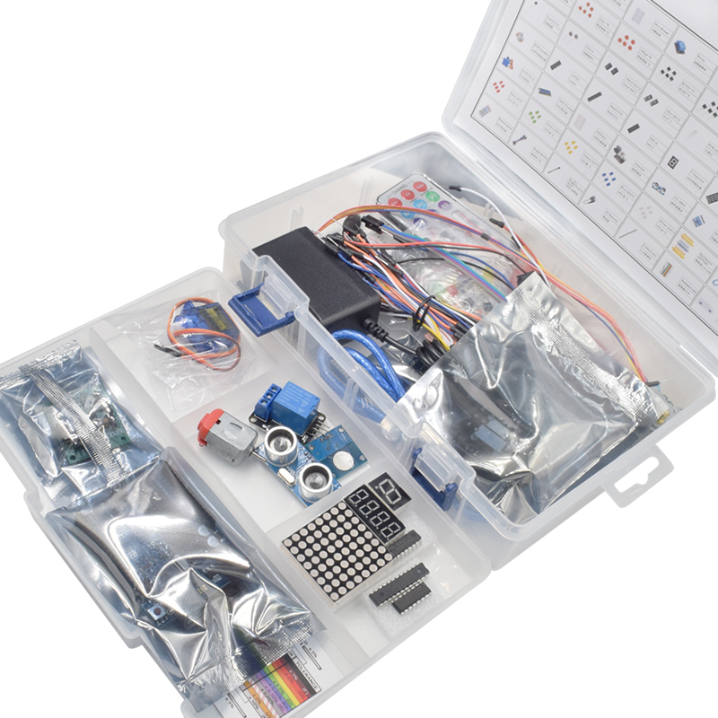 Hot DealsáStarter-Kit Relay-Module Stepper-Motor Arduino-R3 Most-Complete for with Power-Supply
