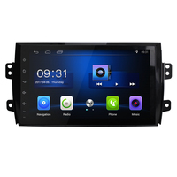 9Android 7.0 ! Car DVD PC Multimedia DVD Player GPS Navi Stereo Radio Fit SUZUKI SX4 2006 2007 2008 2009 2010 2012 3G WIFI OBD