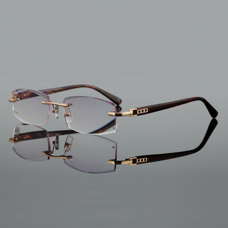 visokokakovostno rezanje presbyopia leče kvadratna očala za branje - Oblačilni dodatki - Fotografija 3