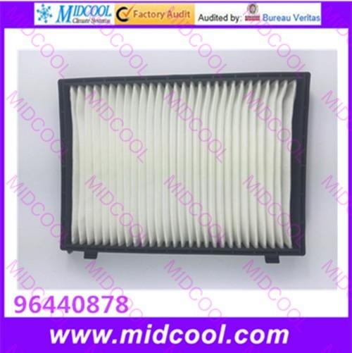 O envio gratuito de Alta qulality cabine Filtro De Ar filtro de tecido não-tecido para 96440878