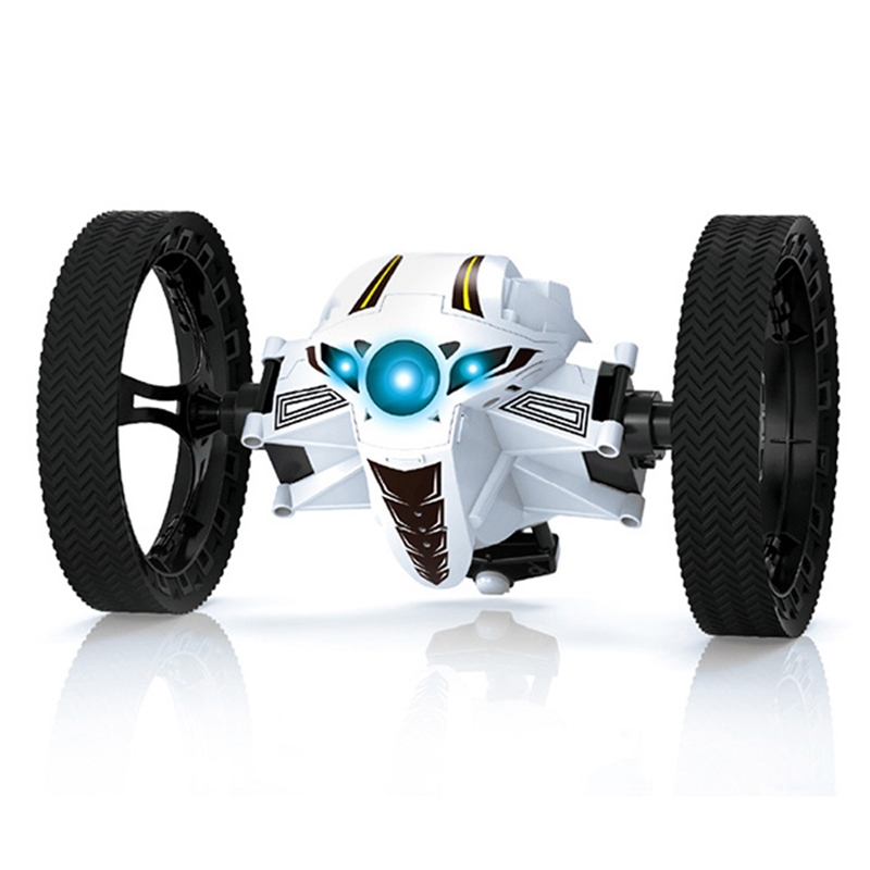 New Sale 2 Colour Choose RC Car Remote Car PEG RH803 2.4G Remote Control Toy Jumping Car With Flexible Wheels Rotation LED Light