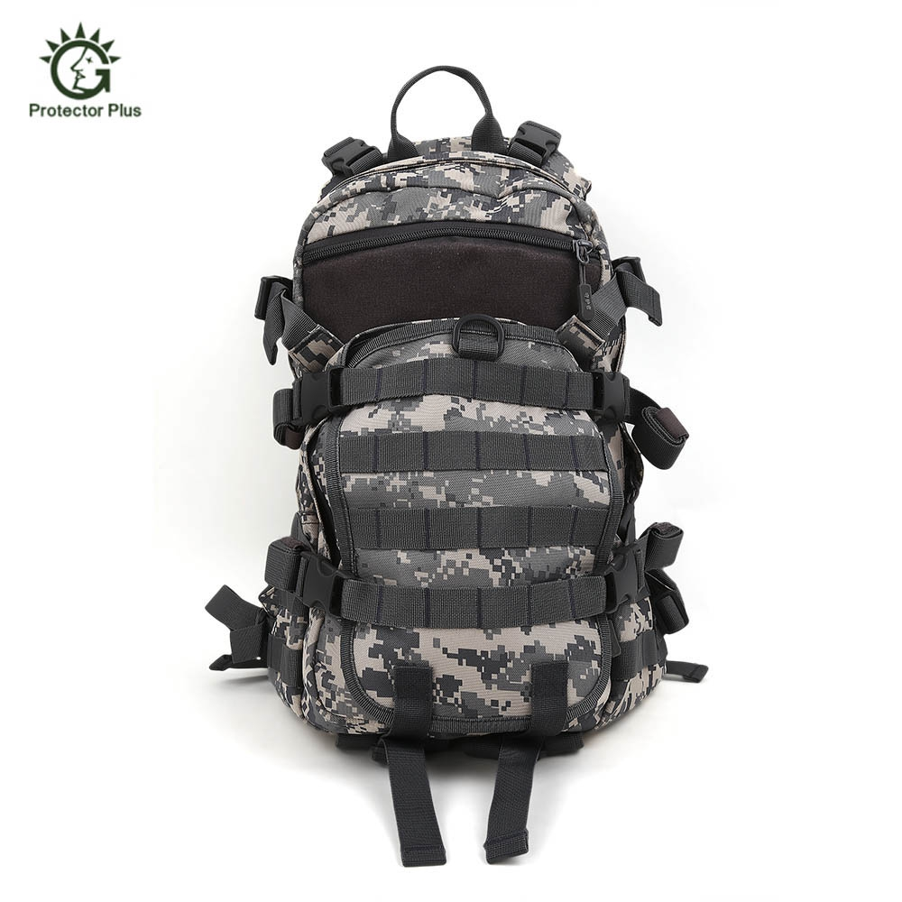 Protector Plus Military Bag Army Tactical Outdoor Camping Men Military Tactical Backpack Oxford Cycling Hiking Climbing Bag 25L 60l outdoor camping men s military tactical backpack 1000d nylon for cycling hiking sports climbing bag